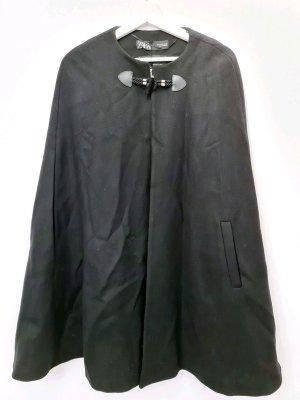 Zara Capa negro Lana