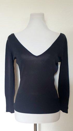 Zara V Ausschnitt Pullover leicht Gr 38 Langarm