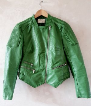Zara Vegetarian leather Bikers Jacket M