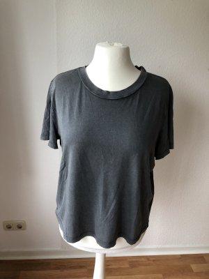 Zara verwaschenes Acid Shirt