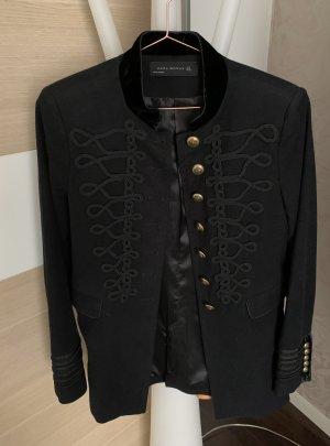 Zara Naval Jacket black-gold-colored