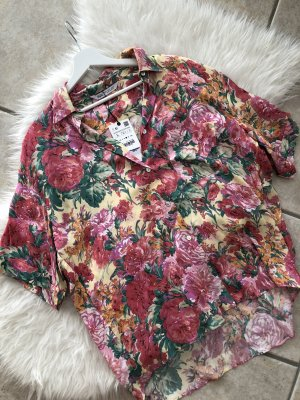 ZARA Vintage Flower Bluse