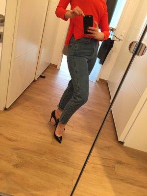 Zara vintage Jeans denim 34 XS wie neu boyfriend high waist
