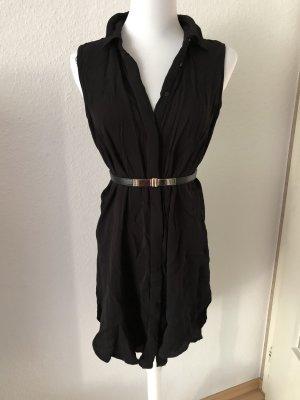 Zara High Low Dress black