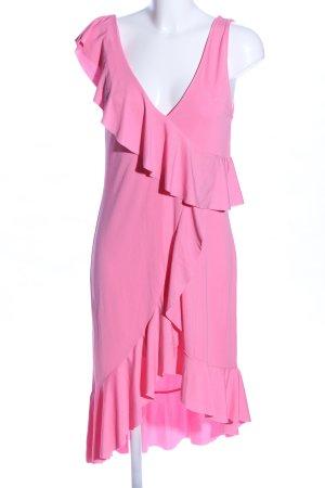 Zara Flounce Dress pink elegant