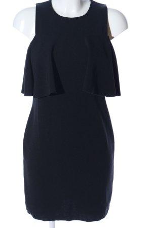 Zara Vestido estilo flounce negro elegante
