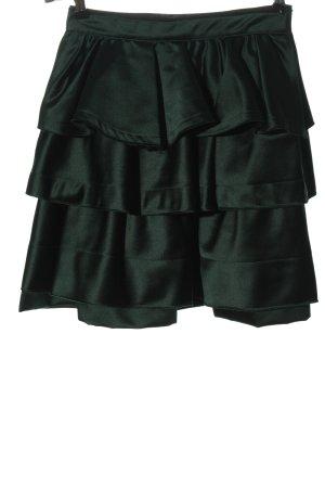 Zara Volantrock grün Elegant