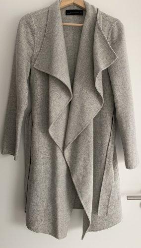 Zara wasserfall Mantel xs