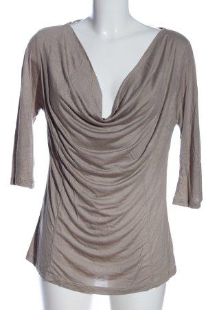Zara Waterval shirt bruin casual uitstraling