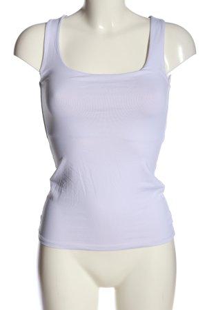 Zara Basic Top weiß schlichter Stil