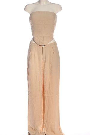 Zara Woven Twin Set nude elegant