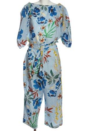 Zara Woven Twin Set allover print casual look