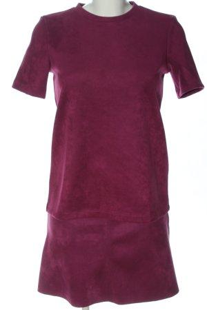 Zara Web Twin Set rot meliert Casual-Look