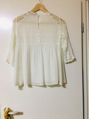 Zara weiße Bluse