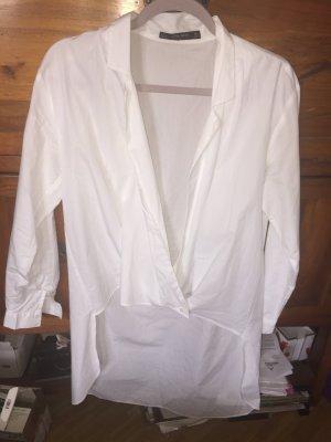 Zara Weiße Bluse im Frack Stil M wie NEU klassische Impressionen
