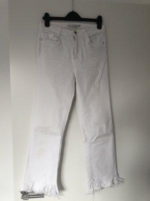 Zara Weisse Jeans