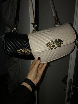Zara Crossbody bag natural white-gold-colored