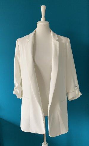 Zara - weißer Long Blazer - Größe M