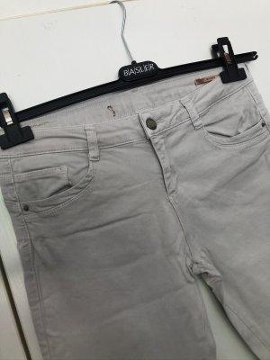 Zara | Weißgraue Skinny Jeans