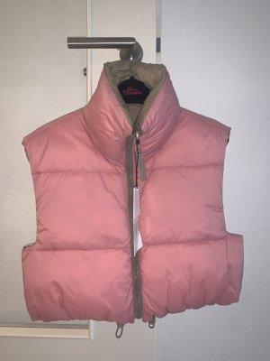 Zara Omkeerbaar jack roze-groen-grijs