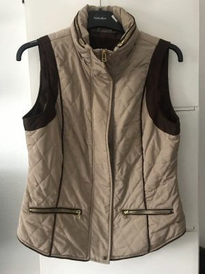 Zara Basic Quilted Gilet multicolored