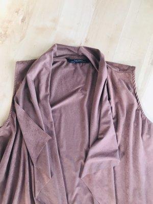Zara Smanicato con frange marrone chiaro