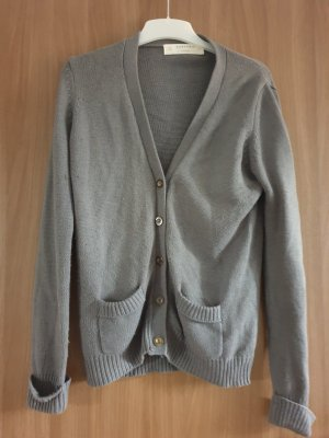 Zara Knit Gilet tricoté gris