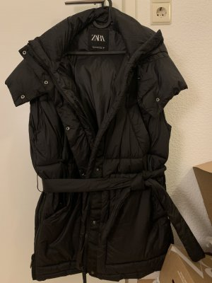 Zara Hooded Vest black