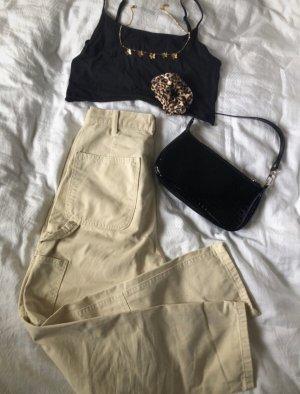 Zara White cargopants