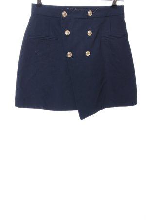 Zara Falda cruzada azul estilo «business»