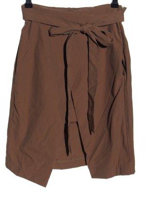 Zara Falda cruzada color bronce estilo «business»