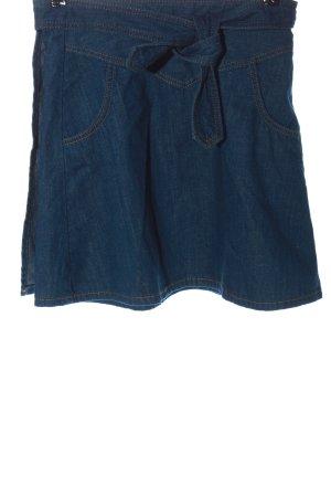 Zara Wickelrock blau Casual-Look