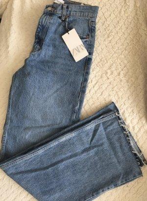 Zara wide leg full length Jeans
