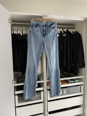 Zara Wide Leg Hose Jeans