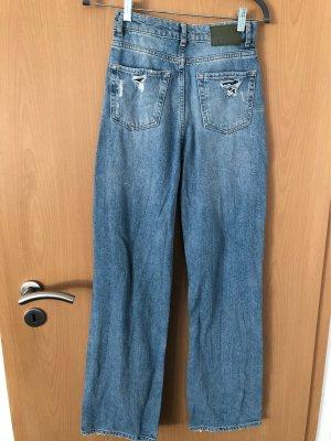Zara Jeans stretch bleu pâle