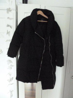 Zara Winter Mantel schwarz Gr. S