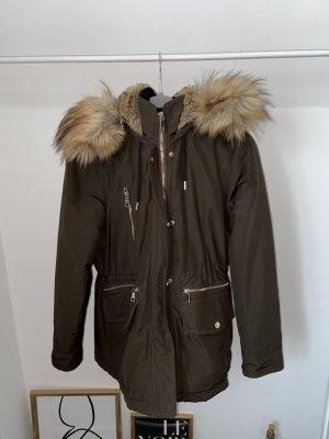 Zara Winter Parka mit Faux Fur – Wie NEU!