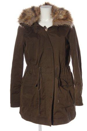 Zara Kurtka zimowa brązowy W stylu casual