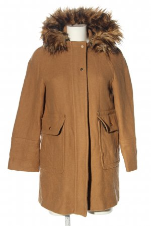 Zara Winterjacke braun Casual-Look