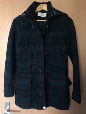 Zara Veste d'hiver vert foncé-noir