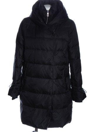 Zara Winterjacke schwarz Steppmuster Casual-Look