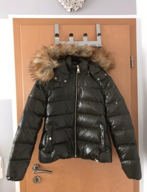 Zara Trafaluc Down Jacket khaki