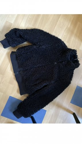 Zara Winterjacke Fell schwarz Gr S