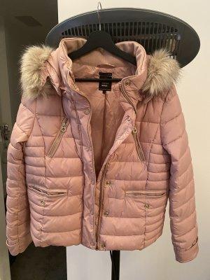 Zara Giacca invernale rosa antico