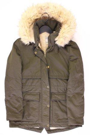 Zara Winterjacke Größe S olivgrün aus Polyester