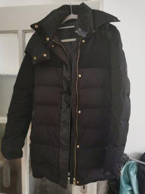 Zara Winterjacke in dunkelblau - Daunen
