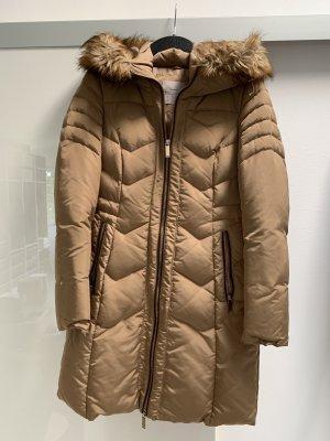 Zara Płaszcz zimowy camel