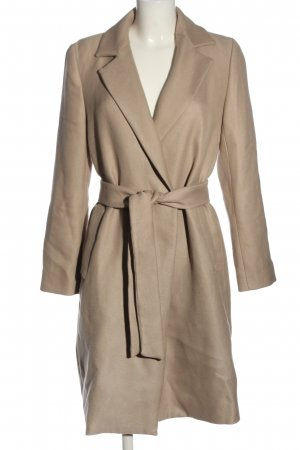 Zara Wintermantel creme Business-Look