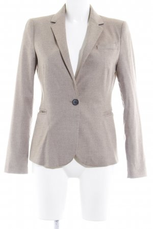 Zara Woll-Blazer beige Business-Look