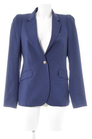 Zara Woll-Blazer dunkelblau Business-Look